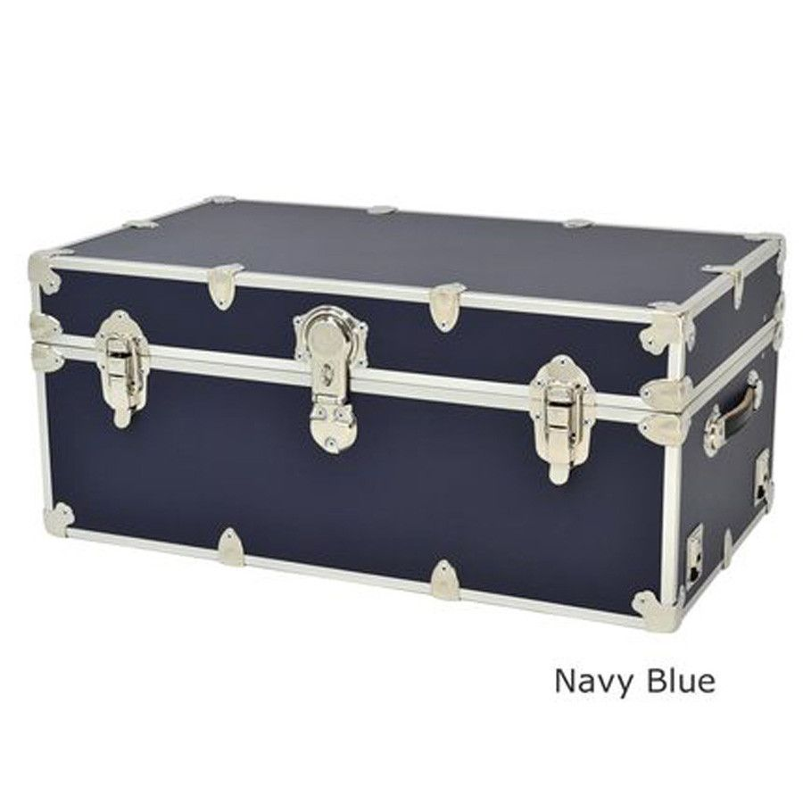 "Storage Trunks For College Beauteous Rhino Large Sticker College & Camp Trunk  32"" X 18"" X 14""  Summer Design Ideas"