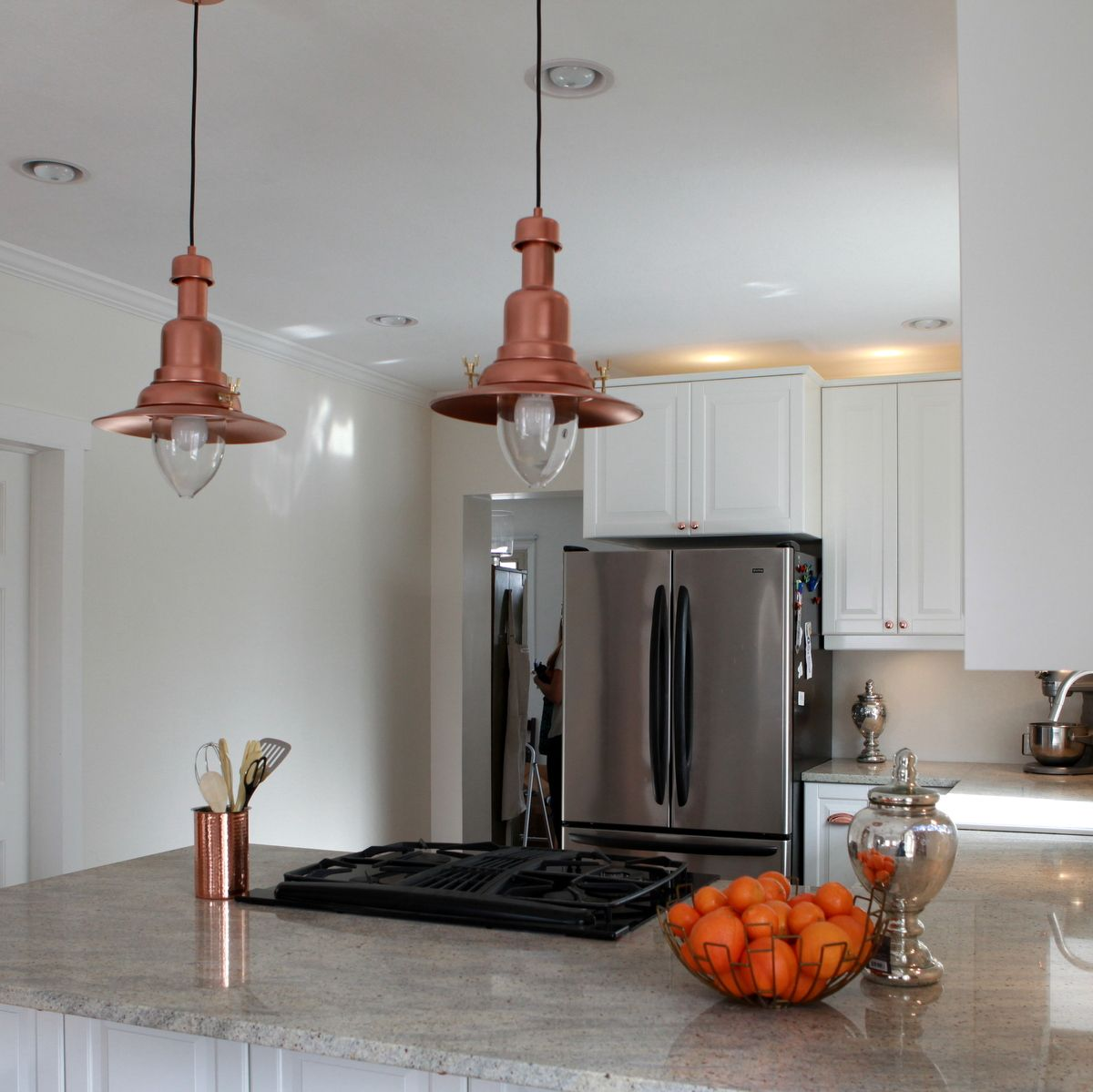 Copper Pendant Lights Kitchen Ikea Hack How To Turn An Ottava 3000 Light Into A Copper Barn