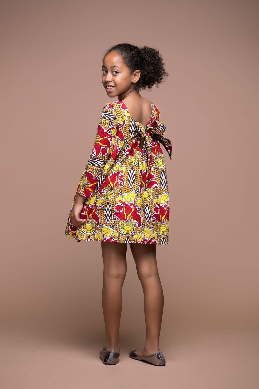 53c36ccea7ca32 Épinglé par amenan sur Mode enfant   Robe africaine pour petite ...