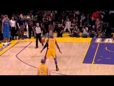 2011 Ron Artest Flagrant Foul On Jj Barea During Lakers Vs