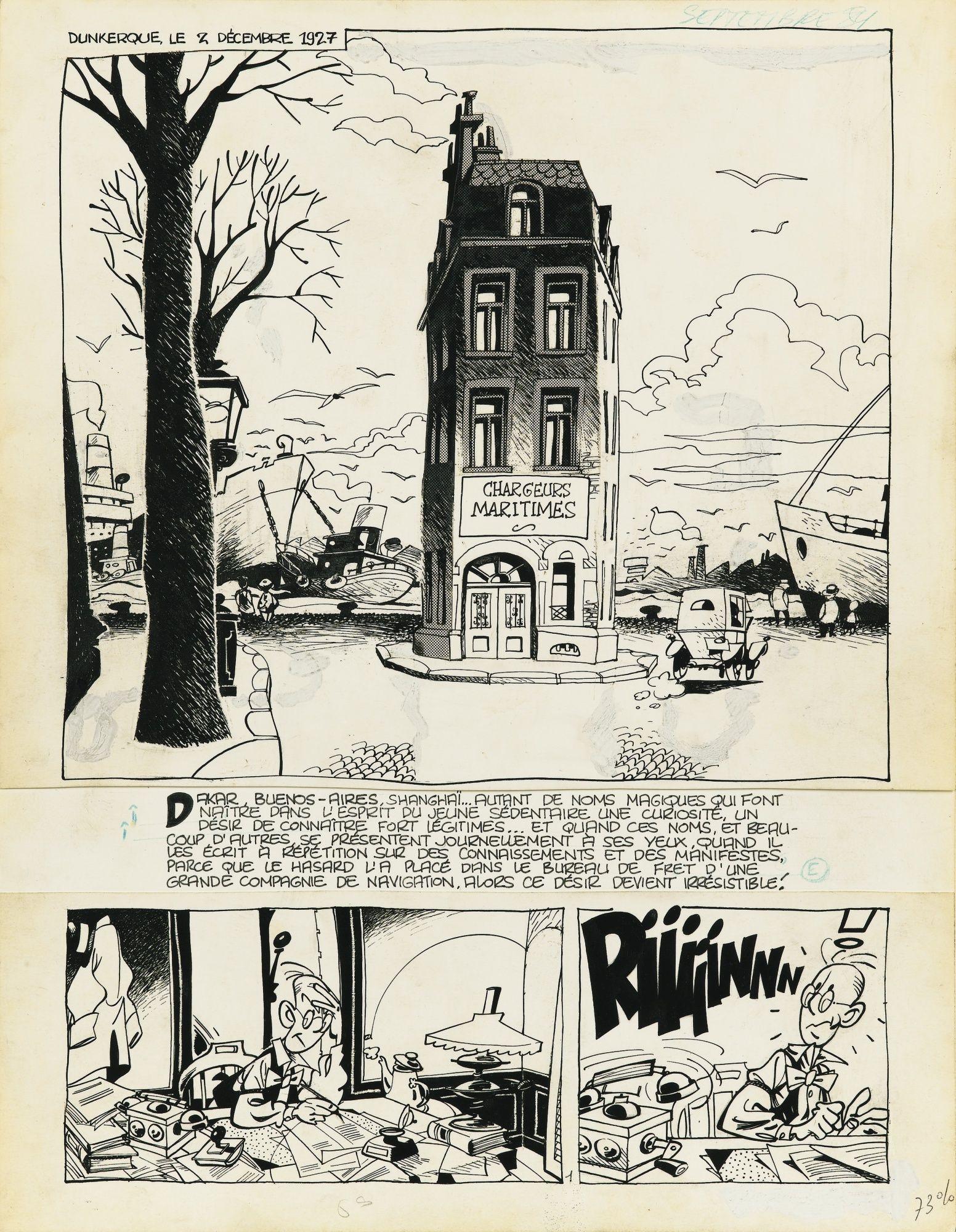 Le Gall Frank Theodore Poussin T Sotheby S Pf1755lot99gvqen Bande Dessinee Dessin Bd Comics