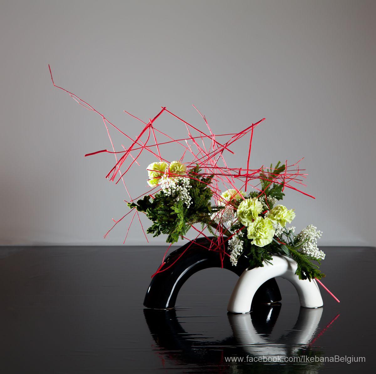 christmas arrangement ikebana ilse beunen photography. Black Bedroom Furniture Sets. Home Design Ideas