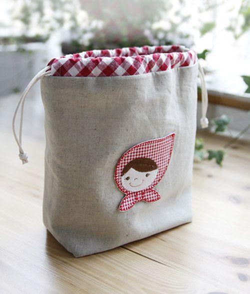 Drawstring Bag Tutorial, Gift Bags. Idea Drawstring Pouch. Pattern ...