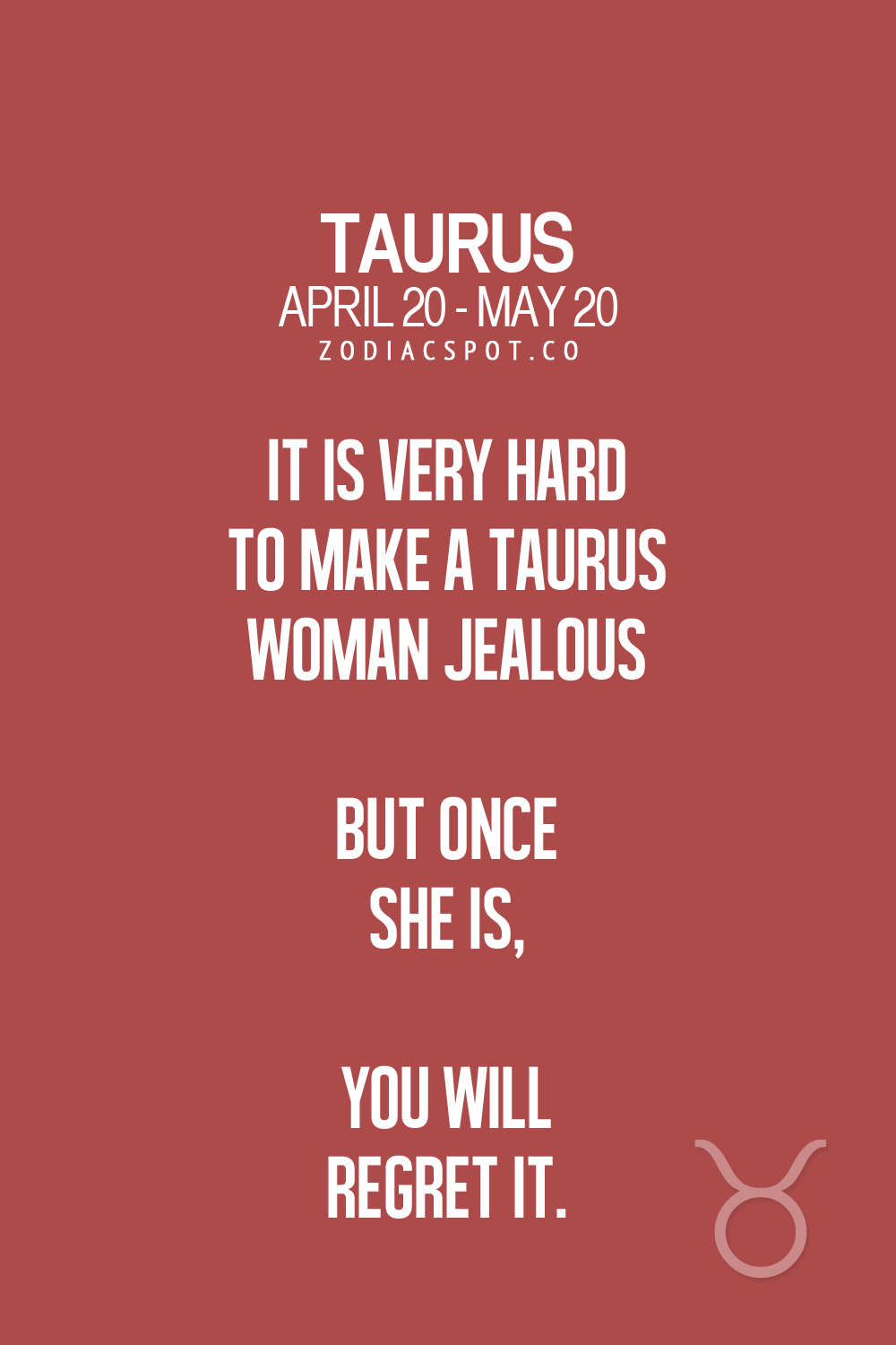 Jealous woman signs