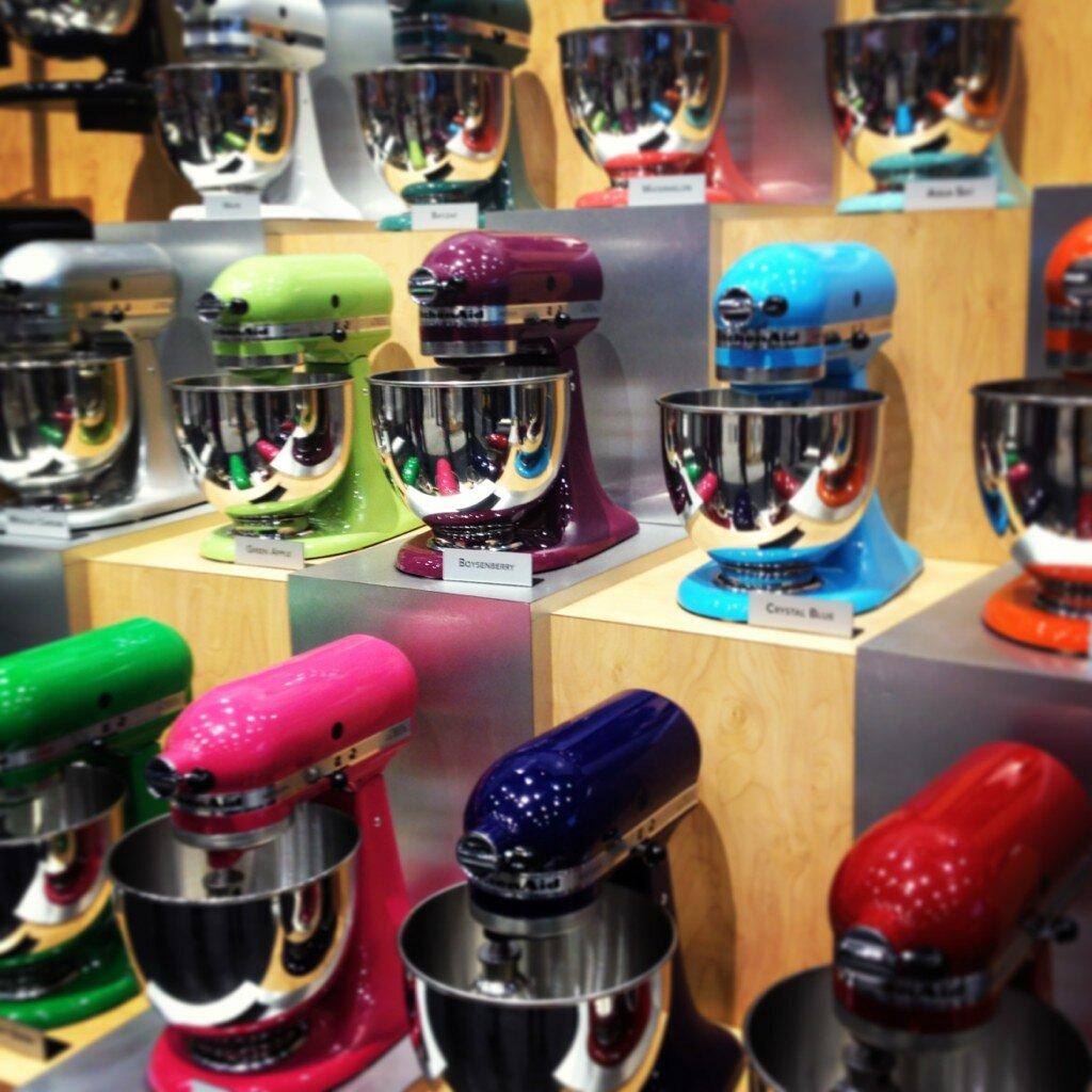 Rainbow Kitchen Decor: #rainbow Of Kitchen Aid Mixers #IHHS13 One Of The Best