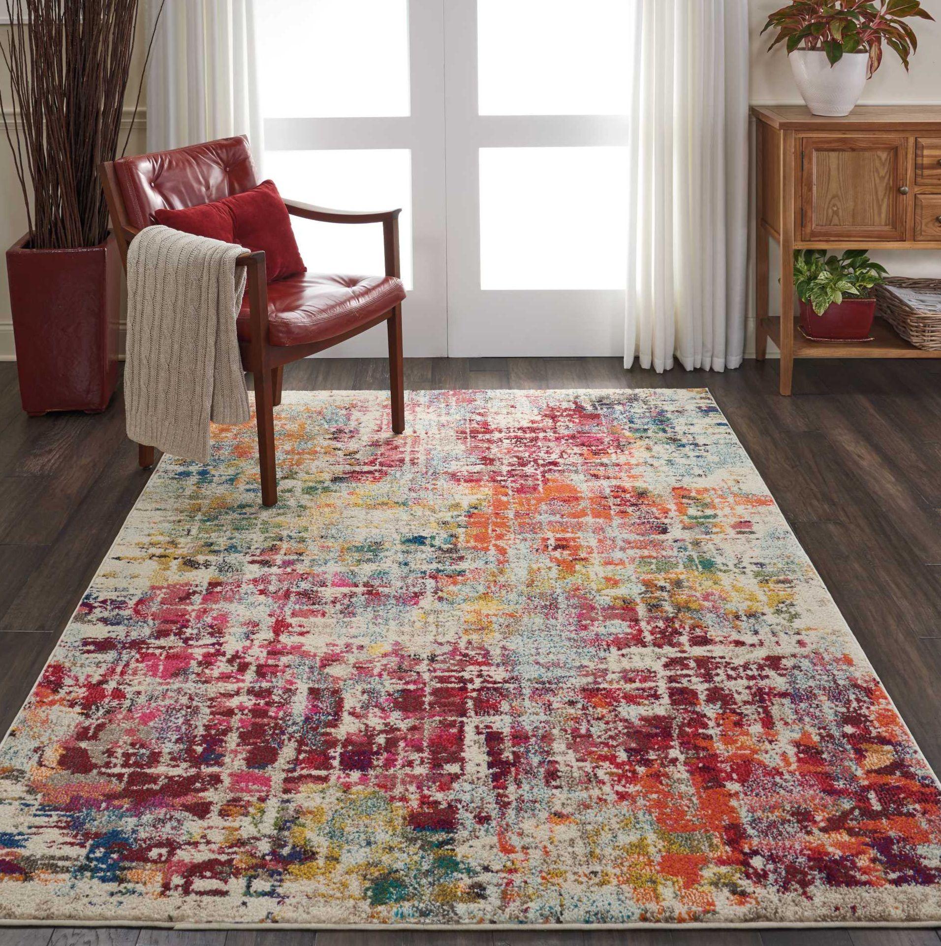 Heavenly Celestial Area Rug Colorful Area Rug Area Rugs Indoor