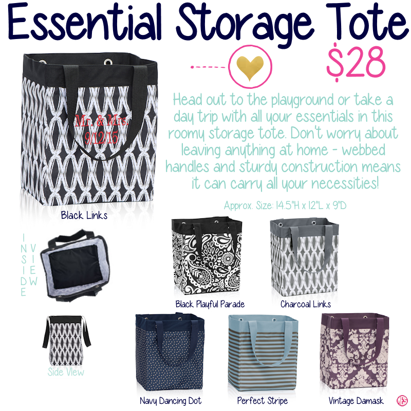 Essential Storage Tote By Thirty One Fall Winter 2015 Thirty