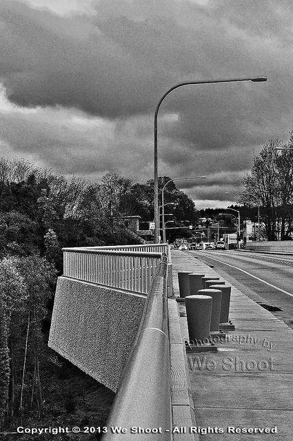 8th Street Bridge Photography Shot Port Angeles Street