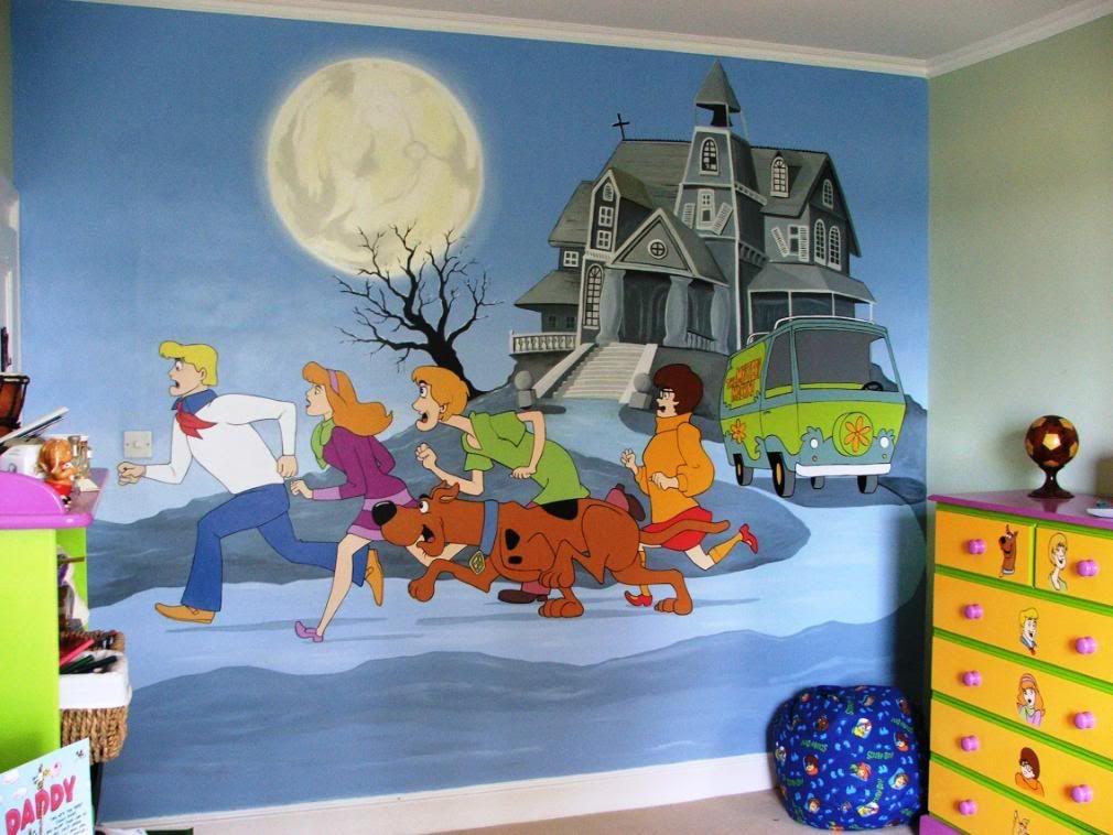 Best Scooby Doo Mural Scooby Doo Halloween Scooby Doo 640 x 480
