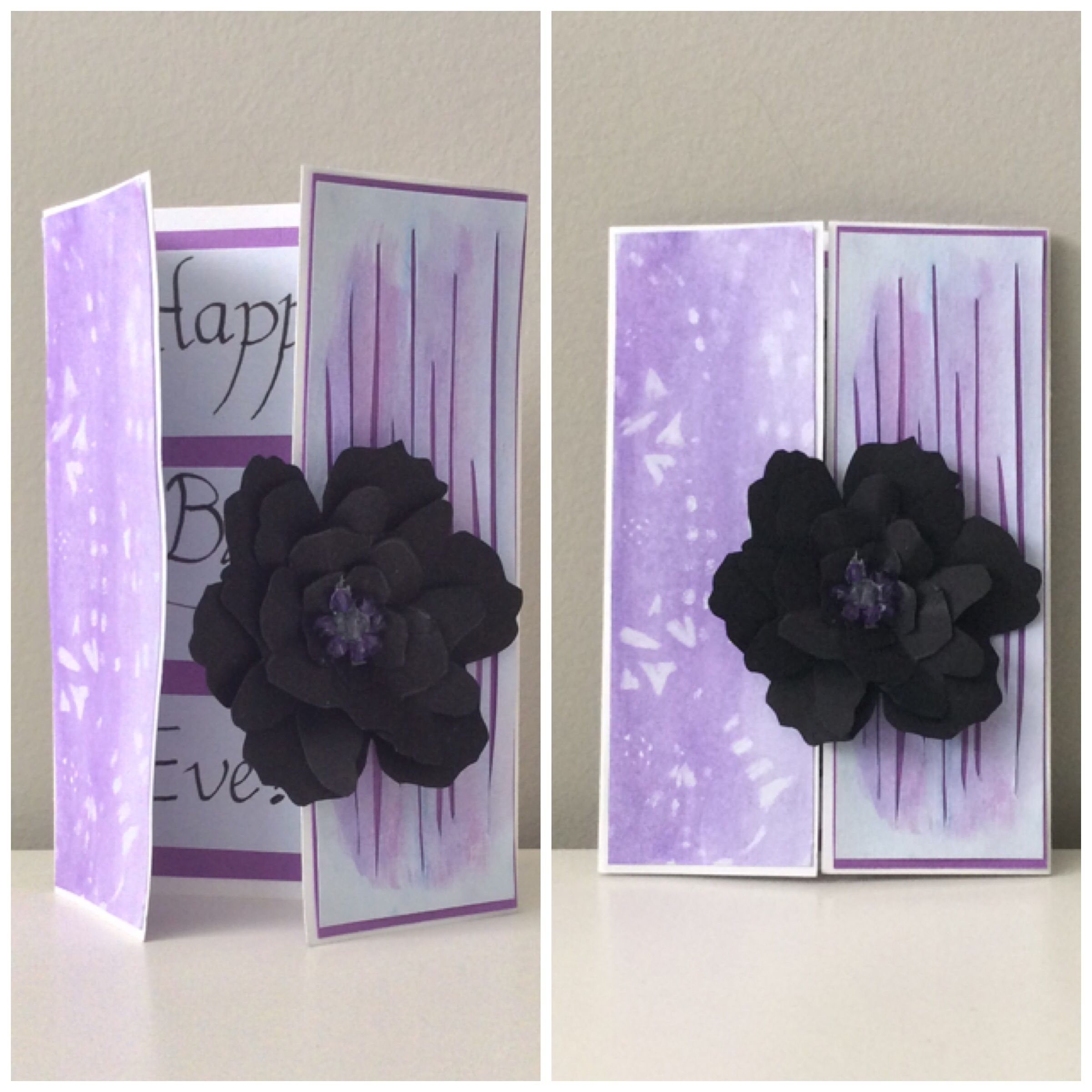 love the trifold with the flower with images  16th