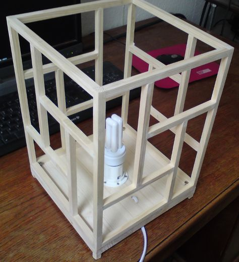 DIY: Building a Japanese shoji-style ambient lamp - the ...