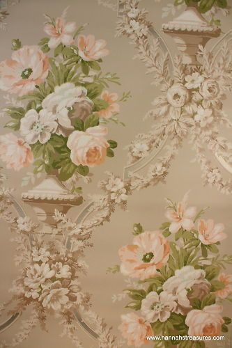 1940 39 s vintage wallpaper old roses pinterest papier peint peindre et tissu dentelle. Black Bedroom Furniture Sets. Home Design Ideas