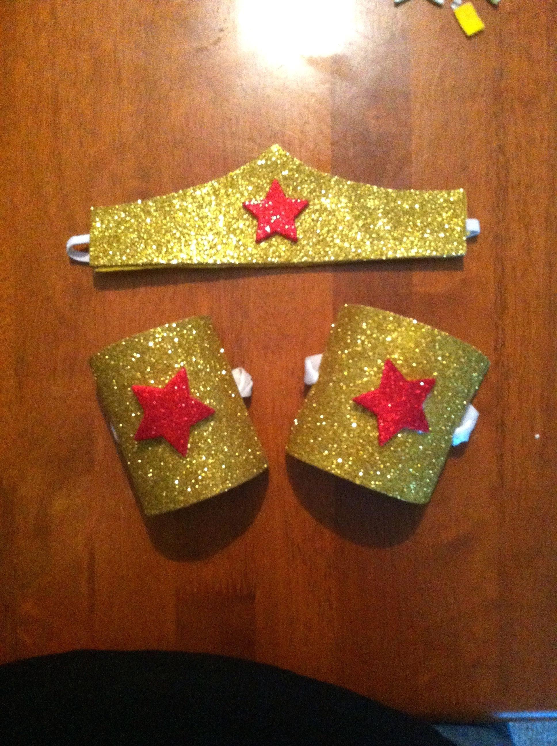 Wonder Woman Headband Template Superhero Costume Ideas For Kids