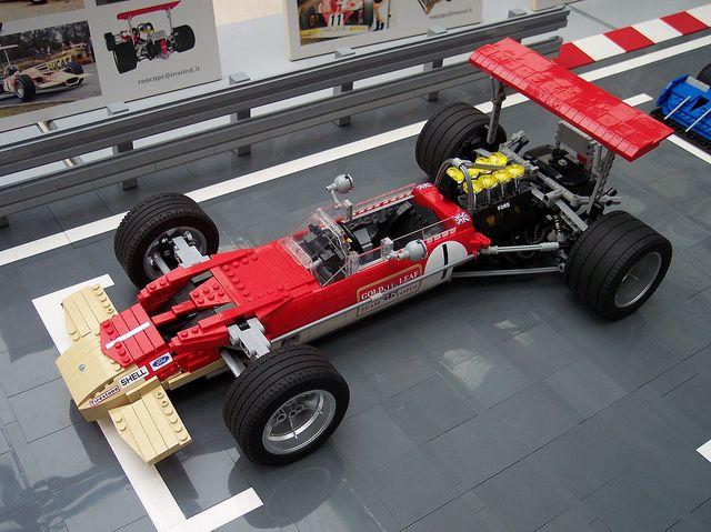 LEGO Lotus 49B by RoscoPC, via Flickr