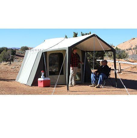 Kodiak Canvas Deluxe 12x9 6 Person Tent