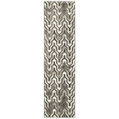 Mercer41 Meuse Beige/Brown Area Rug Size: