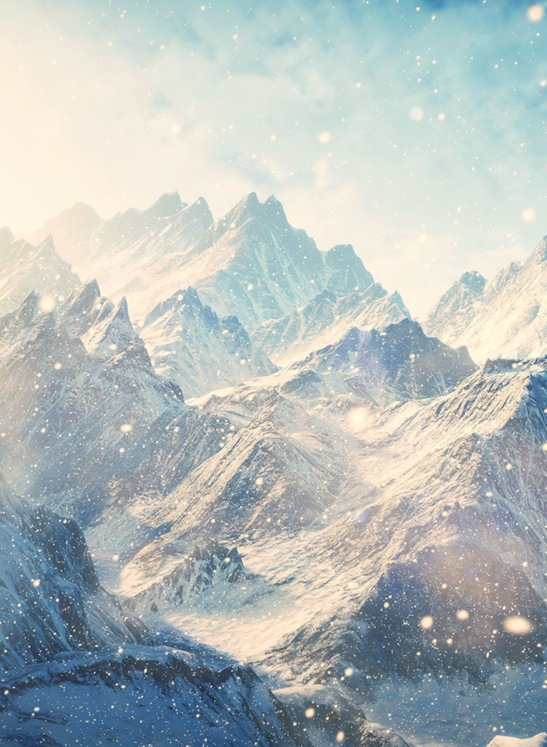 Snow. White. Mountain. #wallpaper #mobile #vertical | Phone Wallpapers | Mountain wallpaper ...
