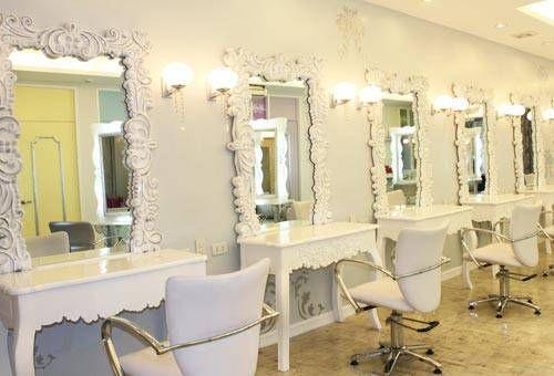 Pin By Seashells On Beauty Bar Hair Salon Decor Hair Salon Hair Salon Design