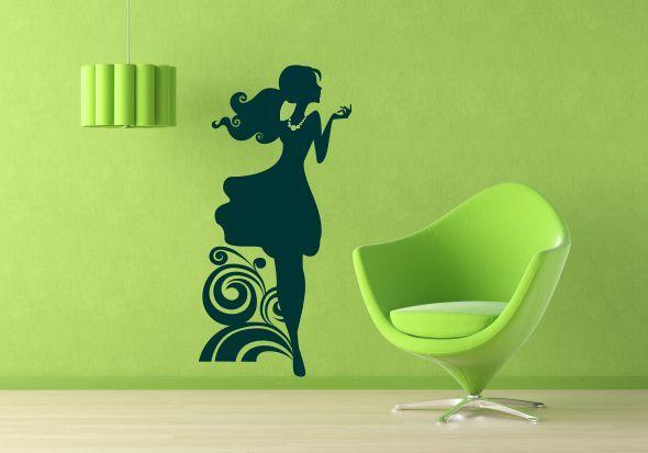 Sticker Perete Girl