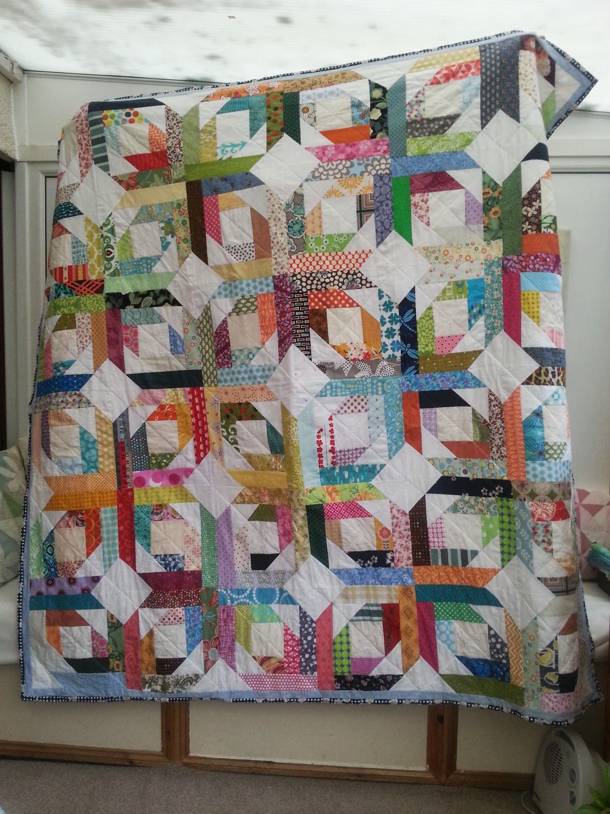 I was beginning to panic that I wasn't going to have a finish this quarter. Although this is the 2nd quilt I have finished within a week (o...