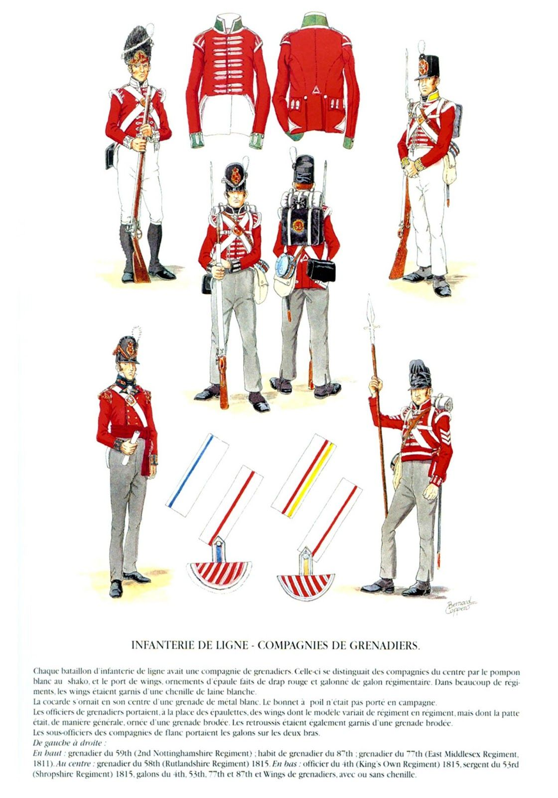 Militares Redcoats 1820 1800 Británicos Rojas Casacas Uniformes dOqgZ4