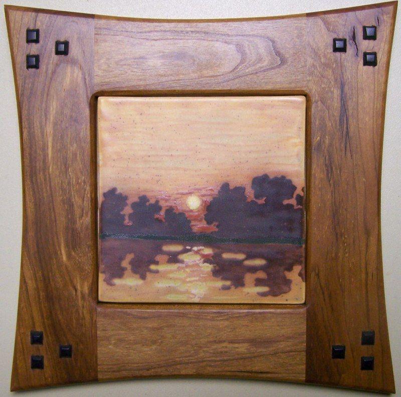 Stone Hollow Tile - Framed Landscape | Frame | Pinterest | Marcos ...