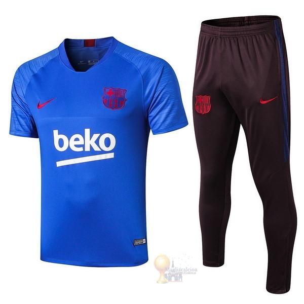 Calcio Maglie Formazione Set Completo Barcellona 2019 2020 Blu ...