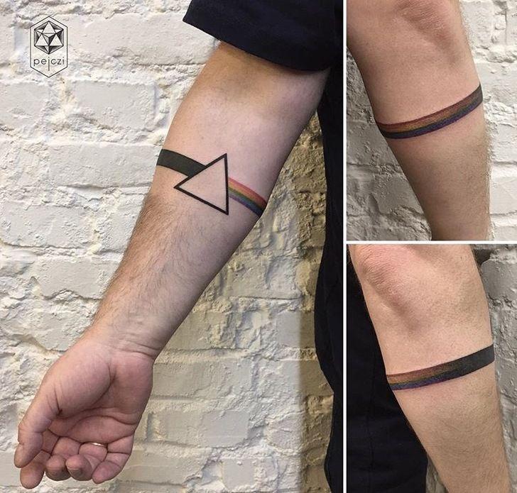 Unterarm tattoo mann klein