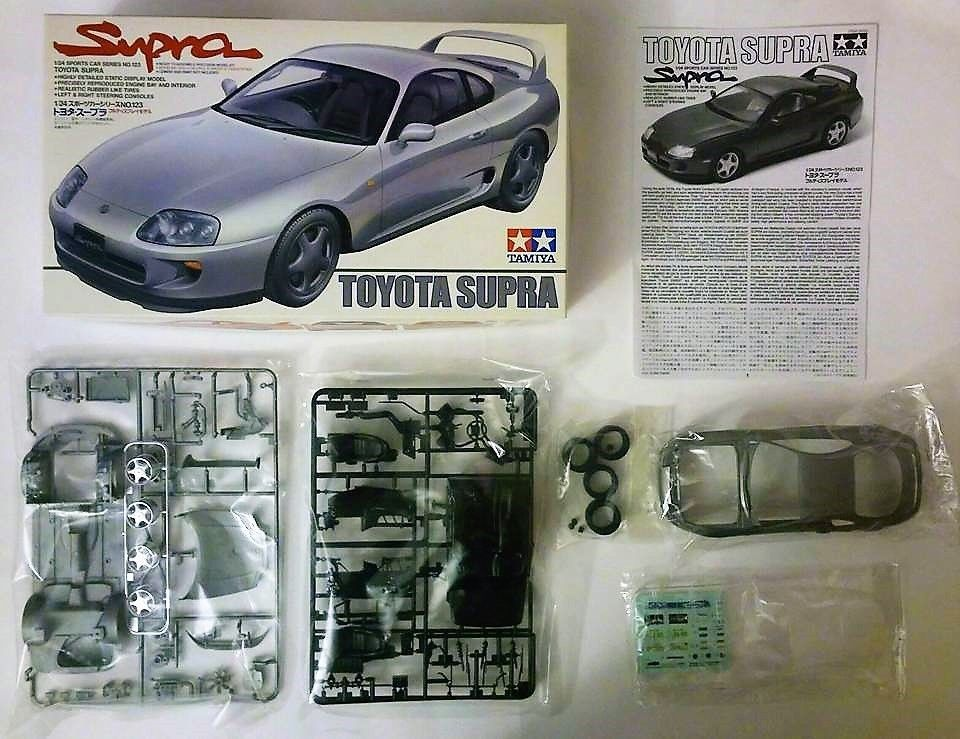 Tamiya 1/24 Scale Toyota Supra Sports Car Series #Tamiya