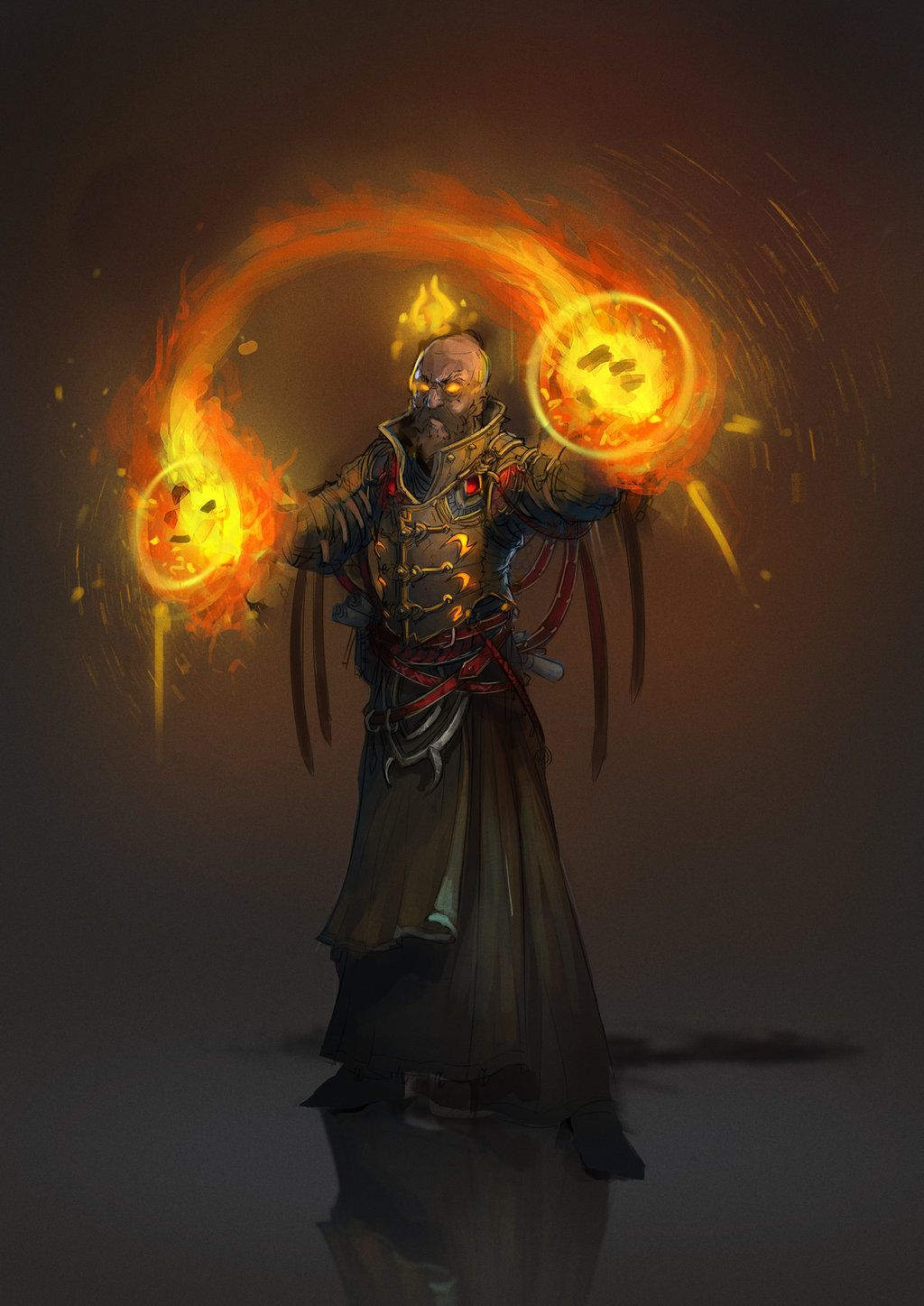 fire mage by 2blind2draw on deviantart male mages pinterest by on and or. Black Bedroom Furniture Sets. Home Design Ideas