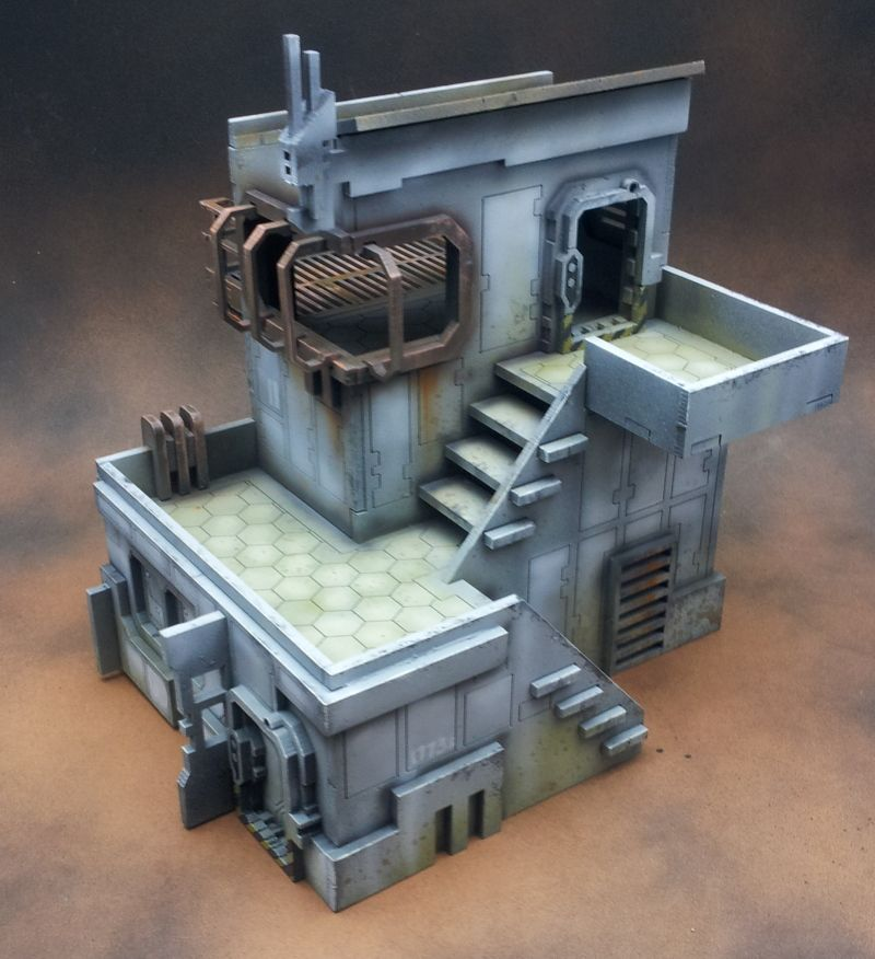 cnc workshop sci-fi buildings - Google Search | Tabletop ...