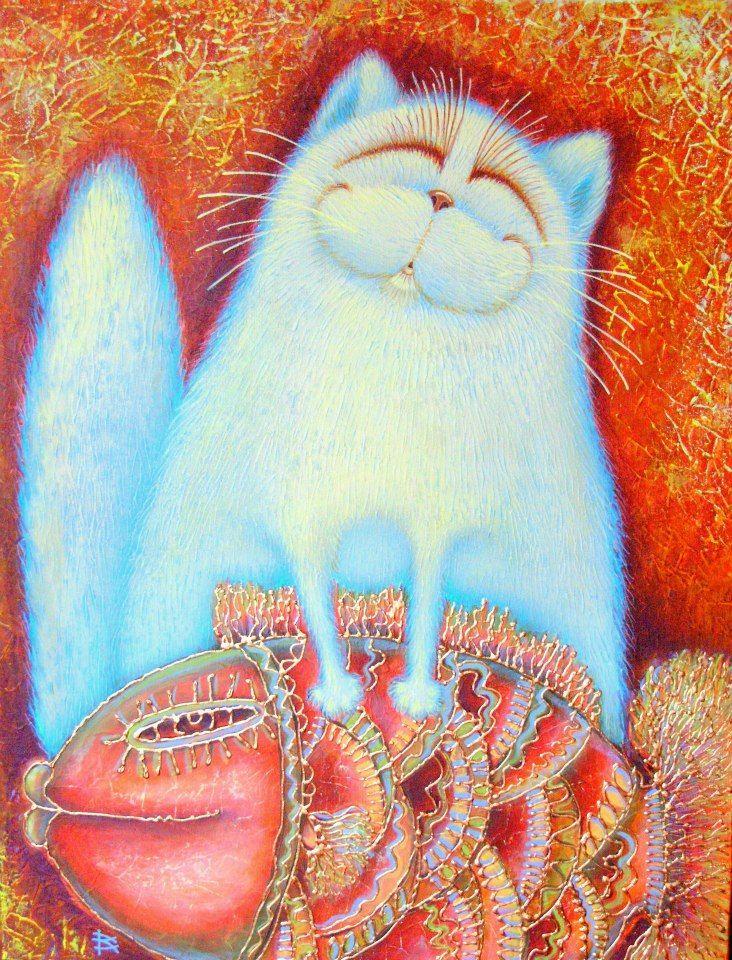 Теплые коты картинки