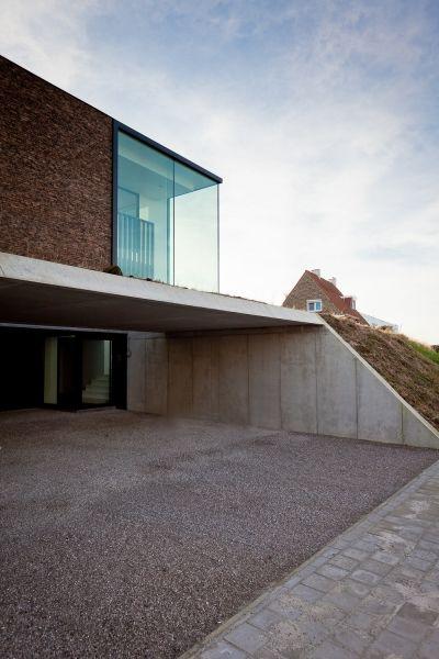 House vo oudenaarde projects caan architecten gent for Hedendaagse architecten