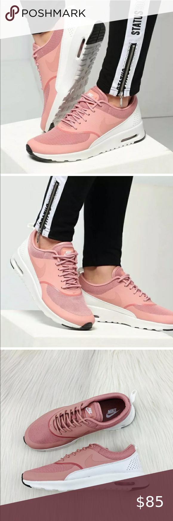 Women's Nike Air Max Thea Rust Pink Sneakers Women's Nike
