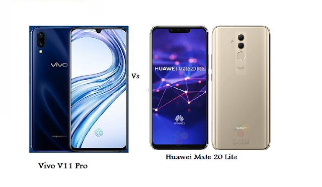 Comparison Of Vivo V11 Pro Vs Huawei Mate 20 Lite Huawei Mate Huawei Samsung Galaxy Phone