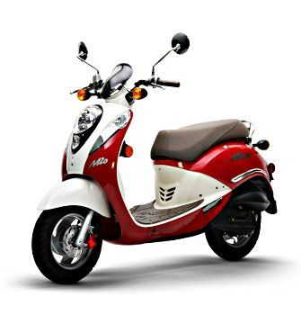 Sym Mio 50cc Scooter From Second City Scooters Motorcycle