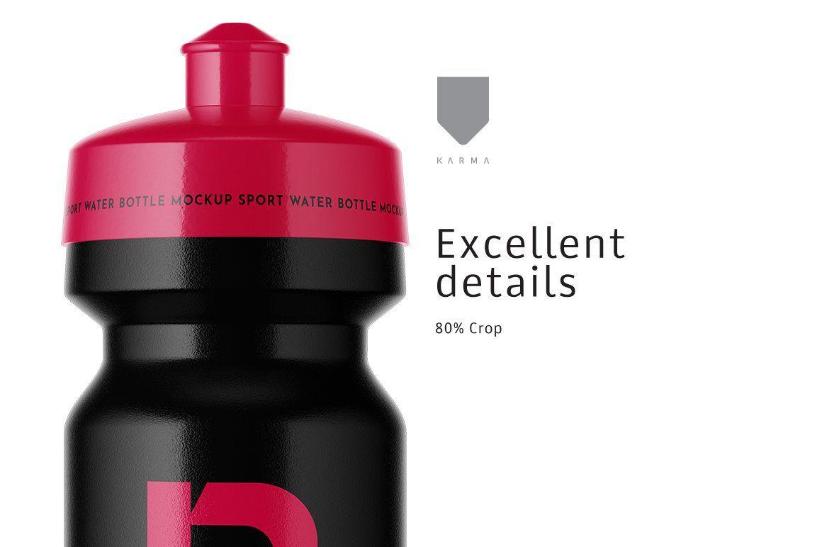 Download Sport Water Bottle Mockup | Bottle mockup, Sport water ... Free Mockups