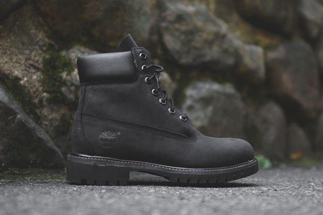 Timberland 6 Boot Triple Black Sneaker Freaker Boots Black