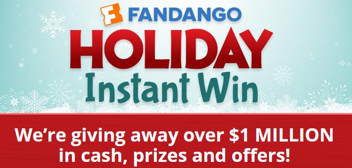 Instant win fandango tickets