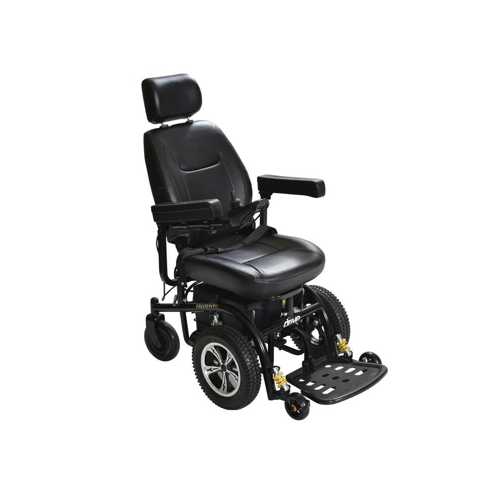 Drive Trident Front Wheel Drive Power Wheelchair With 20 In Seat 2850 20 Powered Wheelchair Electric Scooter For Kids Scooters For Sale