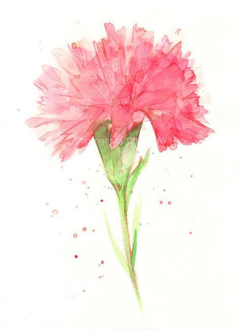 Image Result For Carnation Tattoo With Images Carnation Tattoo