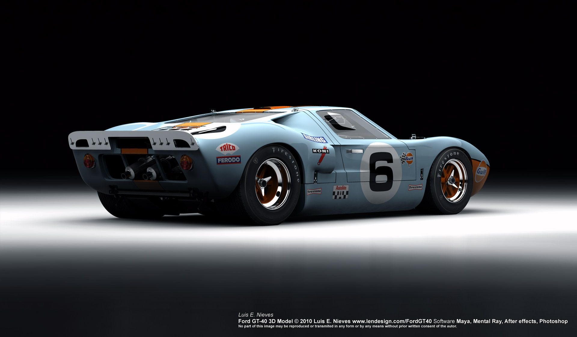 Ford Gt 40 Ford Gt40 Ford Racing Ford Gt
