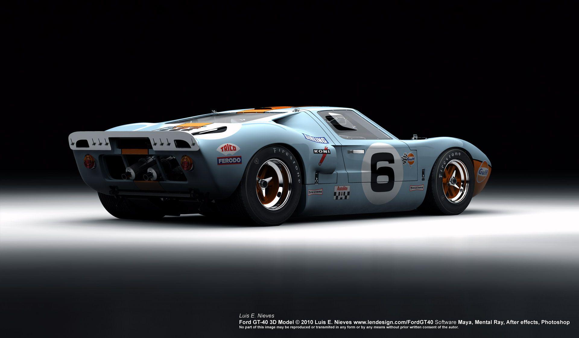 Ford Gt 40 Ford Gt40 Ford Gt Ford Racing