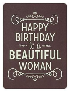 happy birthday to a beautiful woman quotes