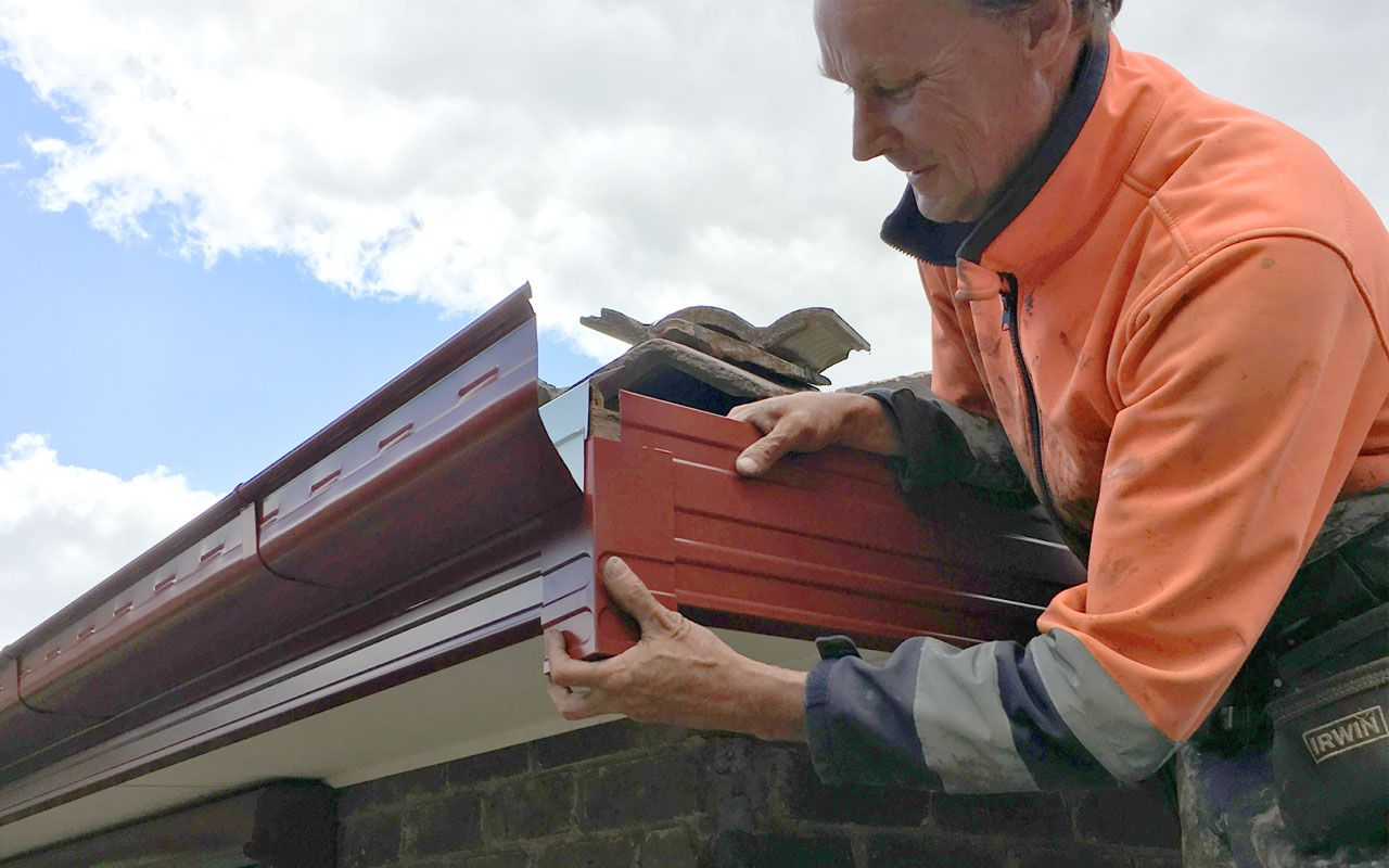 A gutter is more than a decorative feature attached to