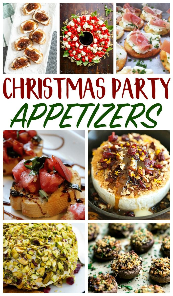 Christmas Open House Food Ideas You will Want to Serve at Your Holiday Party #holidayparties