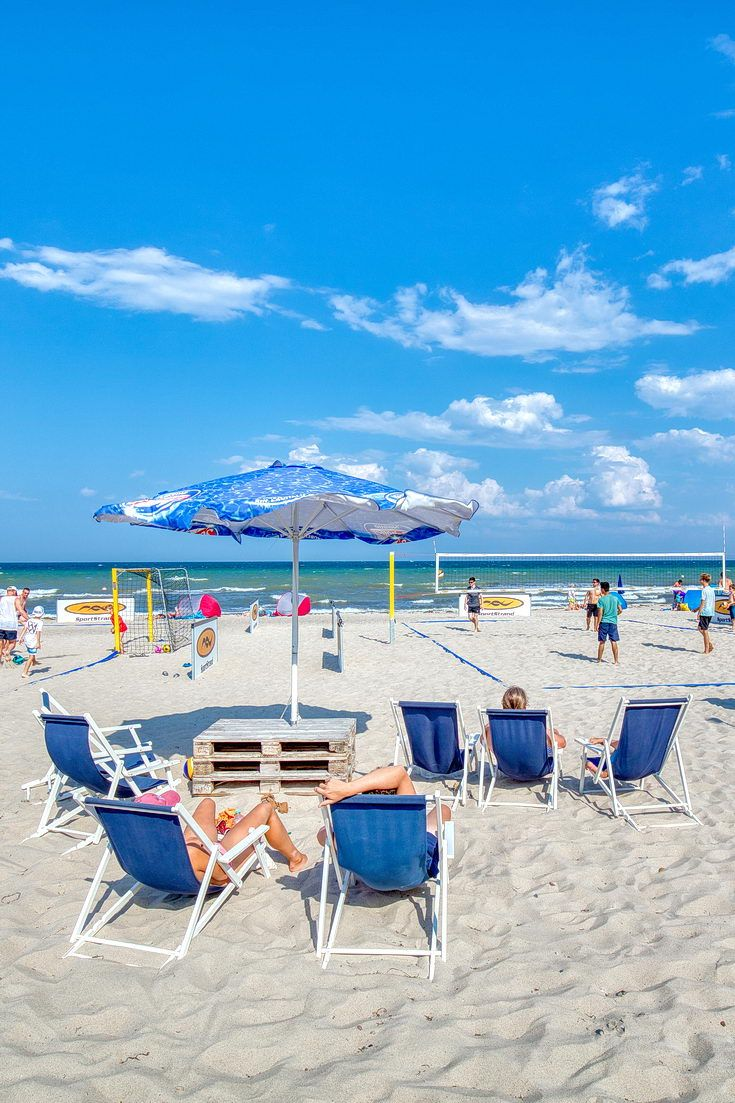 Relaxen am Strand im Ostseebad Dahme, SchleswigHolstein