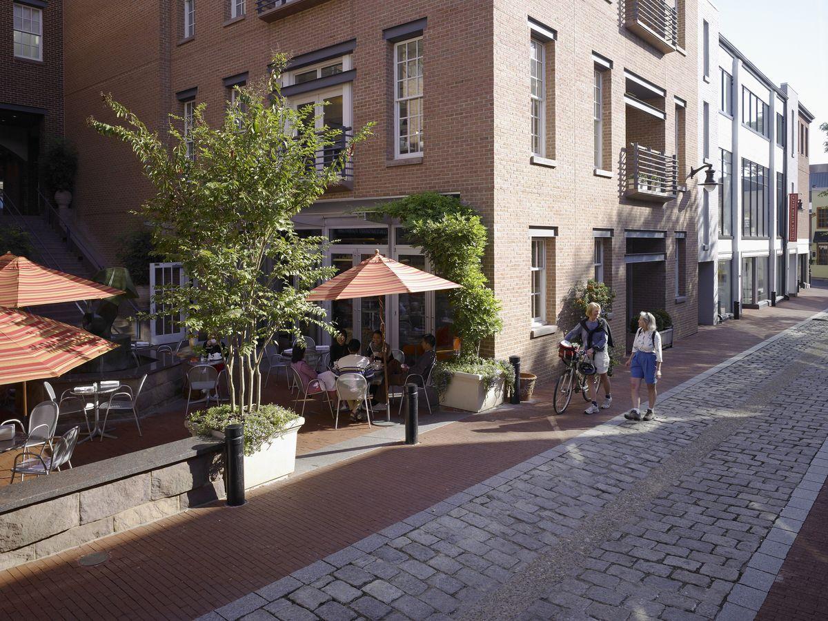 Cadys alley alleys building facade landscape architecture