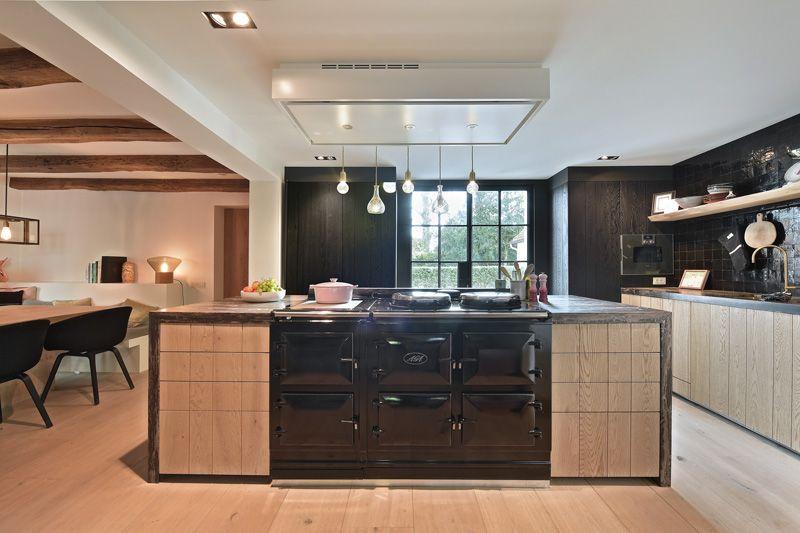 Landelijk strak aga luv pinterest aga kitchen kitchen and new