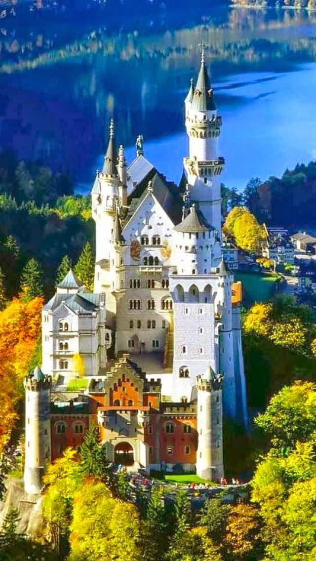 Neuschwanstein Castle Bavaria Germany Top Places Spot Urlaub In Deutschland Burgen Und Schlosser Schloss Neuschwanstein